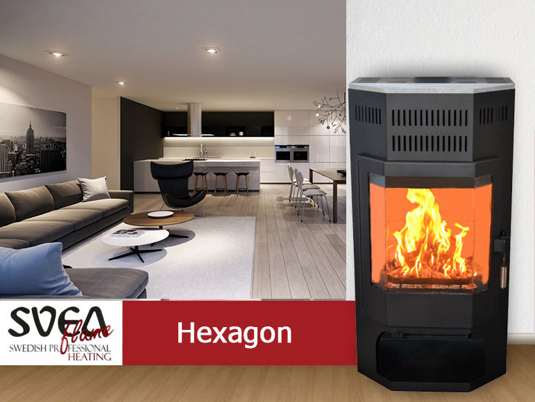 Svea Flame Hexagon